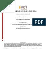 Historia de La Hidrometalurgia Tarea 1.