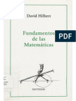Hilbert (19) Fundamentos De Las Matematicas [David Hilbert, 1993].pdf