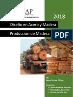 Produccion de Madera