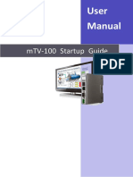 MTV 100 User Manual Eng