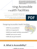 Designing Accessible Health Facilities