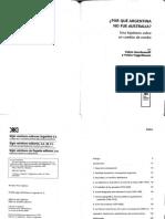 Por que Argentina no fue Australia - Pablo gerchunoff y Pablo Fajgelbaum.pdf