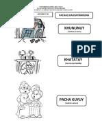 LECCION N° 09 FENOMENOS NATURALES PACHAQ KAUSAYNINKUNA