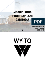 Mobile Lotus Tonle Sap Lake Cambodia