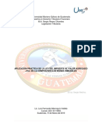 Analisis Aplicacion Del IVA