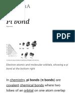 Pi bond