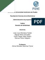 AdDePro AVANCE Estudio de Factibilidad