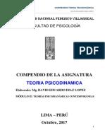 Compendio Teoria Psicodinamica - 2017-2-2do Modulo