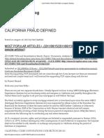 2011 06 15 Livinglies CA Fraud MERS 32pg