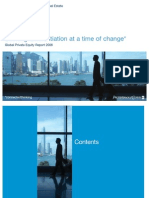 2008 Global Private Equity Report