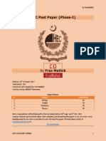 Hec Phase 2 Past Papers