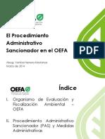 PAS en el OEFA