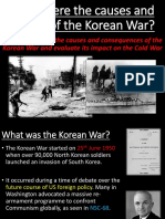 2. the Korean War Causes and Effects (1)