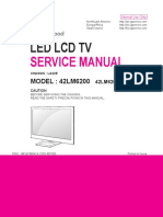 Manual de Servicio TV LED LG 42LM6200 Chasis LA22E