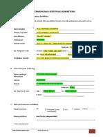 Contoh Pengisian Form 01. FR-APL 01 TUK DIS TL