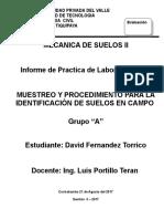 Caratula de Presentacion Practicas de Laboratorio SUELOS 2