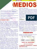 Promedio Aritmético , Geométrico y Armónico Problemas Resueltos Aritmética Rubiños (1)