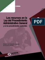 27 Los recursos en la ley del procedimiento administrativo genera.pdf