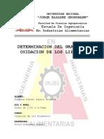 9. Determinacion Del Grado de Oxidacion de Lipidos