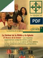 # 14 LA UNIDAD EN EL CUERPO DE CRISTO.ppt