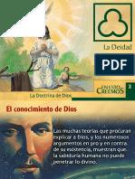 # 02 LA DEIDAD DE DIOS.ppt