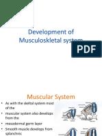 428852_Embryology Muscularskeletal System