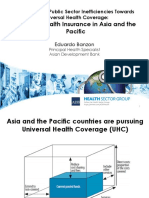 Overcoming Public Sector Inefficiencies Towards Universal Health Coverage
