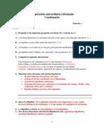 Cuestionario de Apoyo Neuro Ciencia.