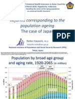 Reforms corresponding to the population ageing