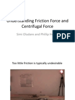 Understanding Friction Force and Centrifugal Force