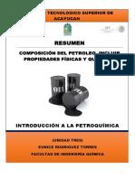 Resumen Composicion Del Petroleo