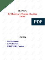 FE170CG CSC RF Trouble Shooting Guide