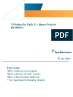 Selecting the Right Projects