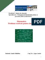 Proiect Matematica Sandu-Madalina