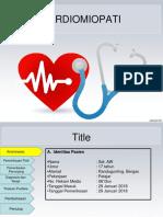 preskas kardiomiopati