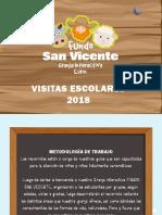 Paseos Escolares 2018