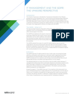 Vmware General Data Protection Regulation and It Management Vmware Perspective