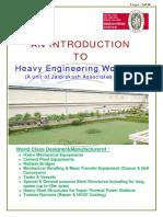 Heavy Engineering Workshop Brochure 2013