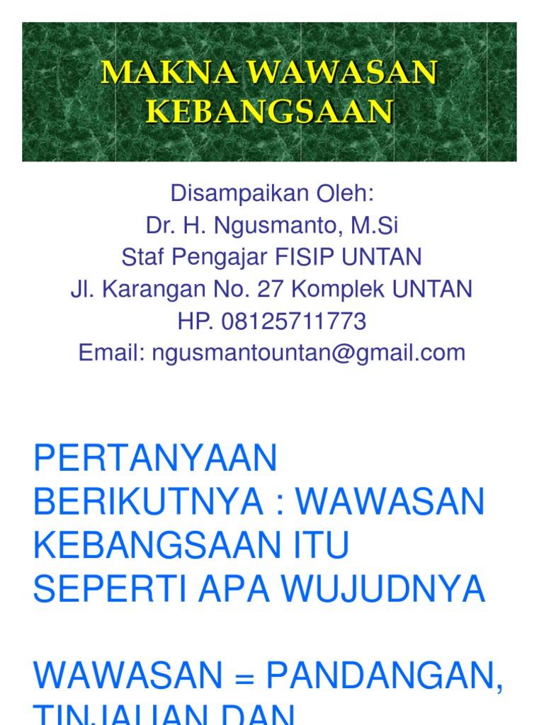 Contoh Esai Wawasan Kebangsaan Indonesia Download Gambar Online