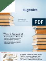 Eugenics PPT-Hist 323