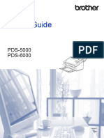 Brother Pds5000 User Manual