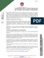 Bases Constitución Bolsa de Trabajo Para Psicólogo