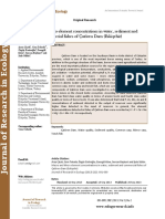 Macro and Micro element concentrations in water, sediment and commercial fishes of Çatören Dam (Eskişehir)