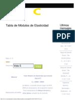 Modulos de Elasticidad - Ingeniería Civil
