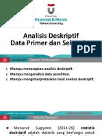 MetlitAkt 8-Analisis Deskriptif Data Sekunder Dan Primer