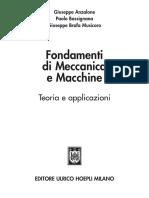 Fondamenti di Meccanica e Macchine
