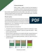 Descripción Química Del Proceso de Obtención