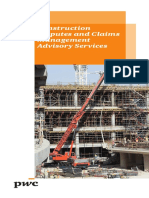 Construction Disputes and Claims Advisory Services