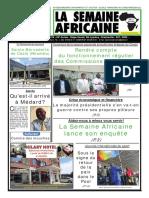 La semaine africaine n°3781 du Mardi 10 Avril 2018