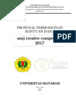 Proposal Pioner 2018